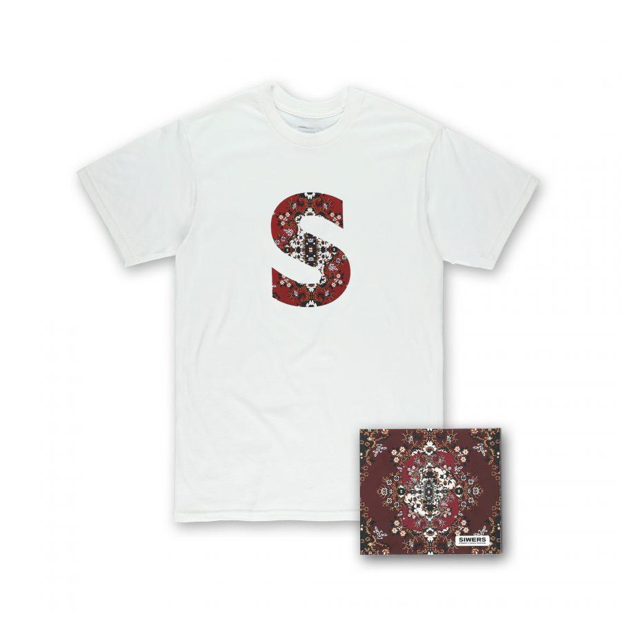 ZESTAW T-Shirt Siwers Dywan White + CD DELUX